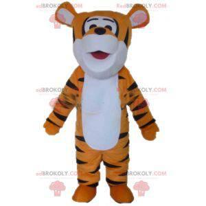 Tigger mascot orange white and black tiger - Redbrokoly.com