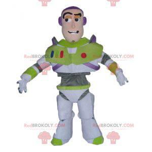 Mascot Buzz Lightyear berømt karakter fra Toy Story -