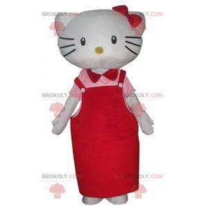 Hello Kitty maskot slavné japonské kreslené kočky -