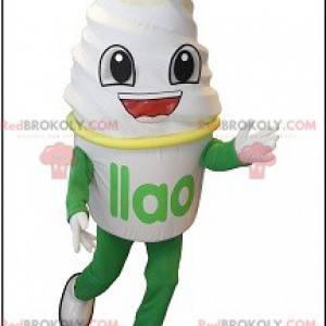 Obří zmrzlina zmrzlina maskot - Redbrokoly.com