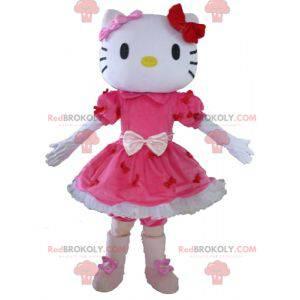 Mascotte Hello Kitty beroemde Japanse cartoonkat -