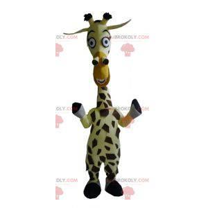 Melman mascot the famous giraffe from Madagascar cartoon -