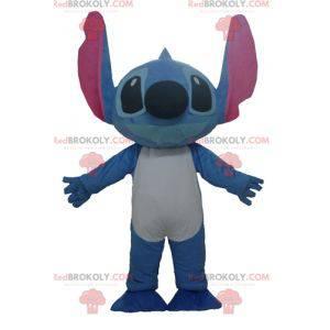 Stich Maskottchen der blaue Alien von Lilo und Stitch -