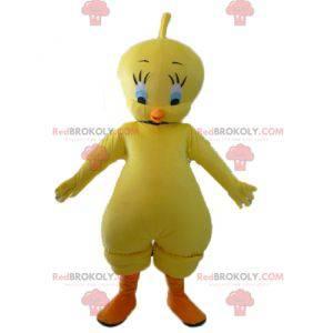 Mascote Titi famoso canário amarelo Looney Tunes -