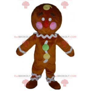 Mascot Ti famous gingerbread cookie in Shrek - Redbrokoly.com