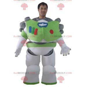 Mascot Buzz Lightyear personaje famoso de Toy Story -