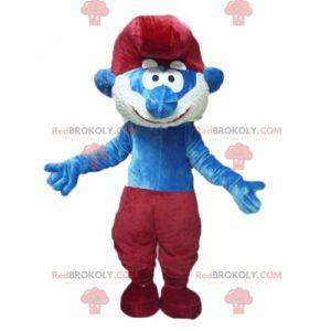 Papa Smurf berømte tegneserie karakter maskot - Redbrokoly.com