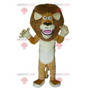 Alex maskot slavný lev Madagaskaru kreslený - Redbrokoly.com