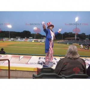 Červeno-bílý a modrý republikánský kostým - Redbrokoly.com
