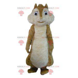 Mascota de la ardilla marrón de Alvin y las ardillas -