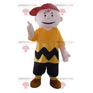 Charlie Brown mascot famous Snoopy character - Redbrokoly.com