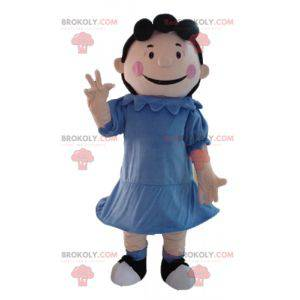 La mascota Lucy Van Pelt, novia de Charlie Brown en Snoopy -