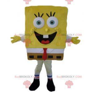Personaje de dibujos animados amarillo de la mascota de Bob