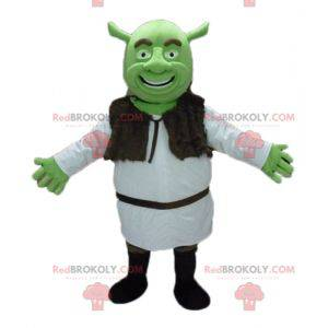 Shrek de beroemde cartoon groene boeman mascotte -