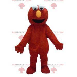 Red Monster Puppet Elmo Mascot - Redbrokoly.com