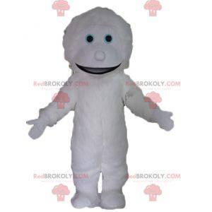 Obří a usměvavý maskot bílé bílé monstrum - Redbrokoly.com