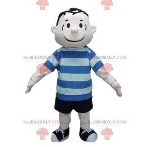 Personaggio mascotte di Linus Van Pelt dei fumetti di Snoopy -