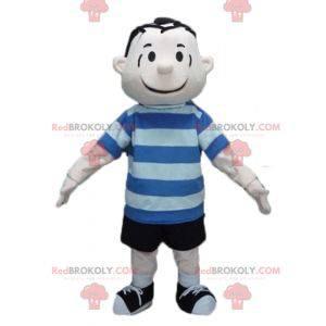 Personaje mascota Linus Van Pelt de los cómics de Snoopy -