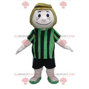 Peppermint Patty mascotte personage uit de Snoopy-strips -