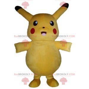 Pikachu Maskottchen berühmten gelben Cartoon Pokemeon -