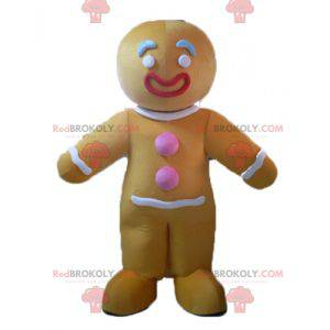 Maskot Ti slavný perník cookie v Shrek - Redbrokoly.com