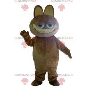 Mascote do gato famoso dos desenhos animados de Garfield -