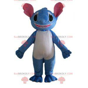 Stitch mascot the blue alien from Lilo and Stitch -
