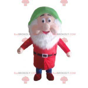 Mascot Happy Dwarf Snehvide - Redbrokoly.com