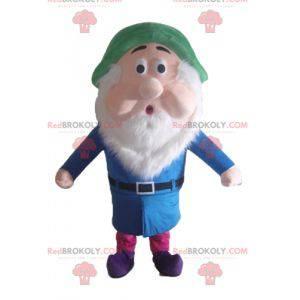 Shy famous dwarf mascot Snow White - Redbrokoly.com