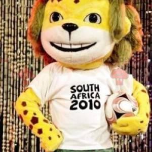 Maskottchen des gelben Tigers der FIFA 2010 - Redbrokoly.com