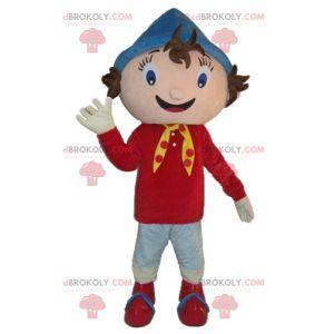 Noddy berühmtes Maskottchen der Zeichentrickfigur -