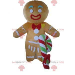 Mascot Ti beroemde peperkoekkoekje in Shrek - Redbrokoly.com