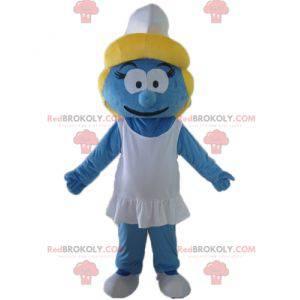 Mascote Smurfette, a garota da vila Smurfs - Redbrokoly.com
