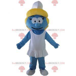 Smurfin mascotte het meisje uit het Smurfendorp - Redbrokoly.com