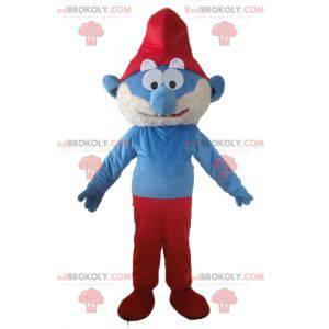 Papa Schlumpf berühmte Comicfigur Maskottchen - Redbrokoly.com