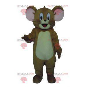 Mascot Jerry de beroemde bruine muis Looney Tunes -