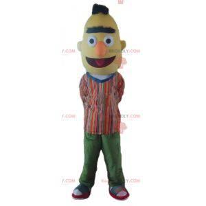 Maskot Bart den berømte gule Sesame Street-dukke -