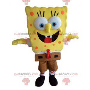 SpongeBob maskot žlutá kreslená postavička - Redbrokoly.com