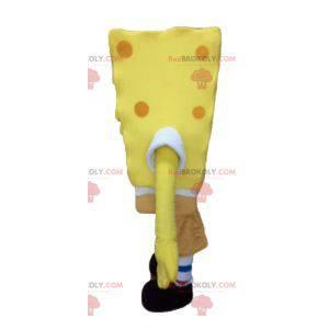 Personaggio dei cartoni animati giallo della mascotte di