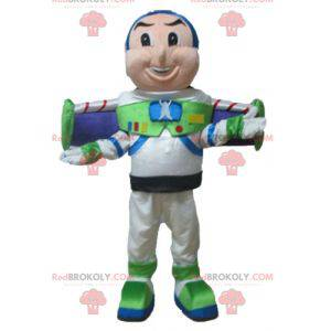 Mascote Buzz Lightyear, personagem famoso de Toy Story -