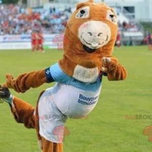 Pottoka pony mascot - Mascot of the Bayonnais Rowing -