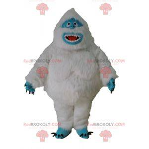 Bílý maskot yeti a modré chlupaté monstrum - Redbrokoly.com