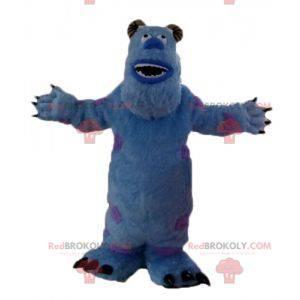 Maskottchen Sully blaues Monster alle haarig von Monsters, Inc.
