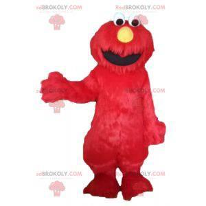 La mascota de Elmo famosa marioneta de Barrio Sésamo -