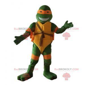 Maskottchen Michelangelo berühmte orange Schildkröte Ninja