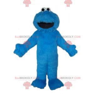 Maskot Elmo slavná modrá loutka ze Sesame Street -