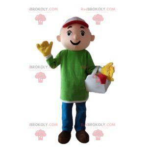 Handyman snekkerarbeider maskot - Redbrokoly.com