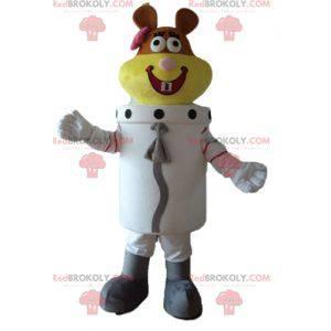 Beaver Space Beaver Astronaut Mascot - Redbrokoly.com
