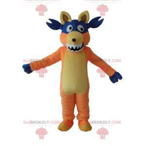 Babouche-maskot den berømte abe af udforskeren Dora -