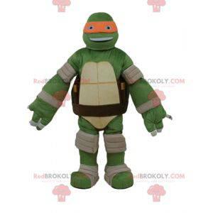 Maskot Michelangelo slavné oranžové želvy Ninja želvy -